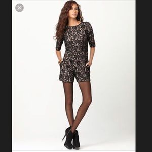 BCBGMaxAzria Shorts - BCBG lace romper